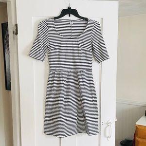 Striped Old Navy dress